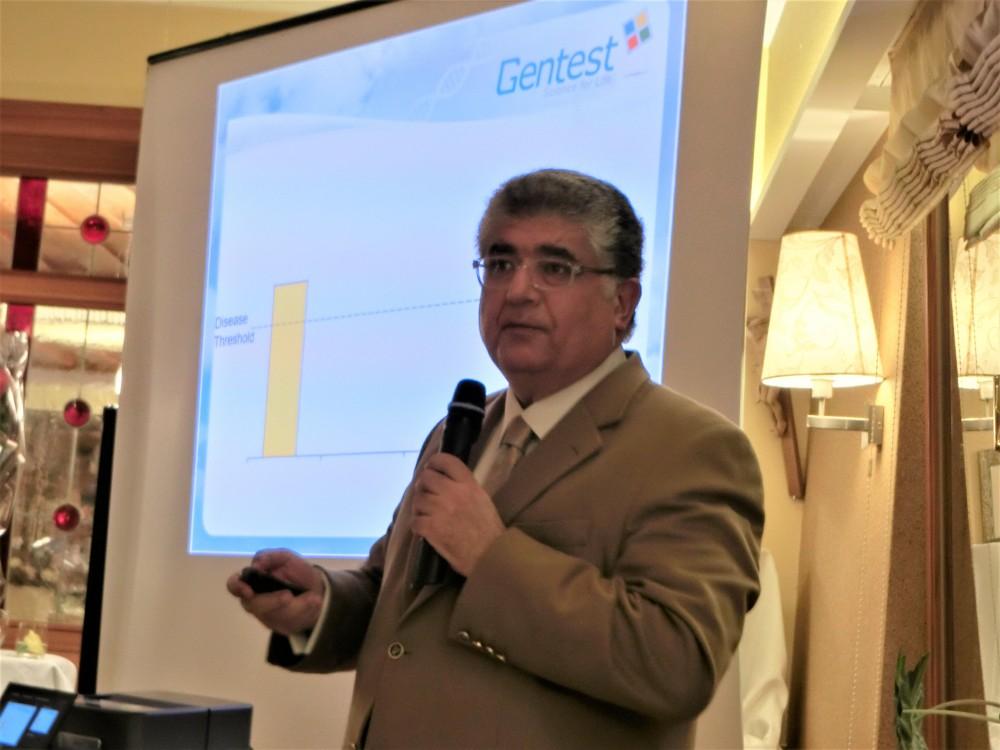 Keynote by Dr. Serdar Savas on the topic of Genetic Tests